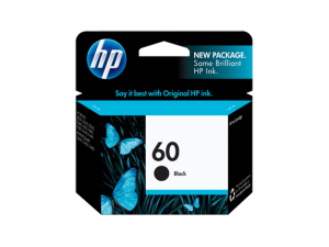 HP Black Ink Cartridge 60