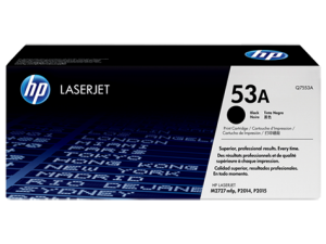 HP Black Toner 53A [Q7553A]
