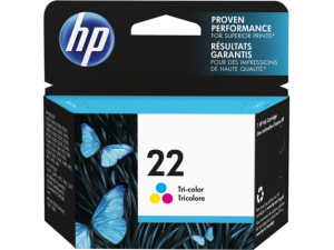 HP Ink Cartridge 22 Colour
