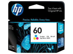 HP Tri-Colour Ink Cartridge 60