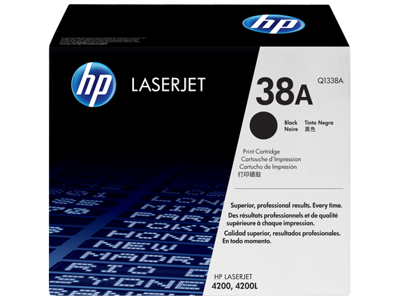HP Black Toner 38A