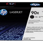 HP Black Toner 90X