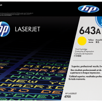 hp toner 643 yellow