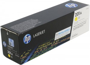 Toner HP 201A Yellow Original LaserJet Cartridge (CF402A)
