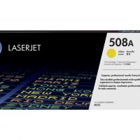 HP 508A Yellow Laserjet Toner Cartridge (CF362A)