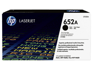HP 652A Black Toner Cartridge CF320A