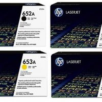 HP 653A Yellow Toner Cartridge CF322A