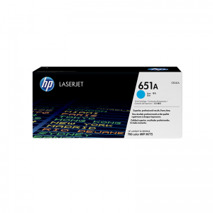 HP 651A Cyan Original LaserJet Toner Cartridge (CE341A)