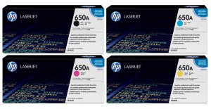 Jual Toner HP 650 Color