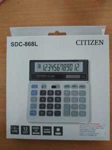kalkulator citizen SDC -868L